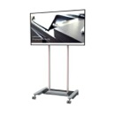 Mobile stand for flat screen displays