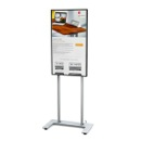 Display stand for flat screen displays