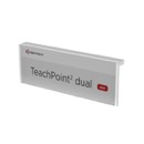 Supports a logo or a name tag.