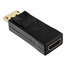 DisplayPort (male) to HDMI (female)