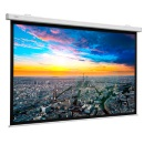 Projection screen for direct wall or