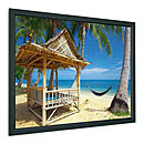 Framed screen,
