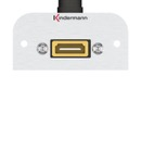 Adapter plate HDMI 90° to 19-Pin