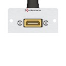 Adapter plate HDMI 90° to 19-Pin for