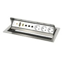 Desktop casing with 6 insets,