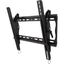Tilting wall mount with post