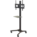Mobile cart with vertically adjustable